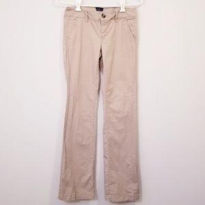 American Eagle Womens Size 2 Khaki Work Pants
